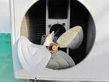 La cuchilla del compresor era daño y grieta, industriales Fotografía de archivo libre de regalías