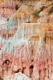 La cucina dell'inferno, canyon di Marafa Fotografie Stock Libere da Diritti