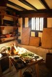 La cucina di Shakespeare Immagini Stock Libere da Diritti