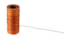 la cuerda de rosca fuerte anaranjada Fotos de archivo libres de regalías