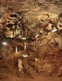 La cueva del blanco de Draye, Francia foto de archivo