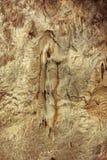 La cueva del blanco de Draye, Francia imágenes de archivo libres de regalías