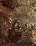 La cueva del blanco de Draye, Francia fotografía de archivo libre de regalías