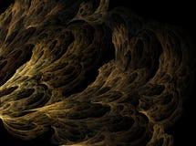 La cueva del fractal Fotografía de archivo