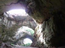 La cueva le gusta no otra Imagen de archivo libre de regalías