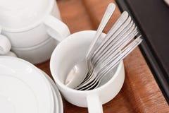 La cuillère à café Image stock