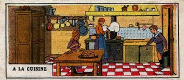 à la cuisine Stock Photo