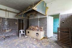La cuisine abandonnée Photos libres de droits