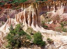 La cuisine de l'enfer, canyon de Marafa, Kenya Image libre de droits