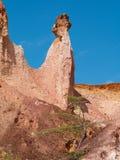 La cuisine de l'enfer, canyon de Marafa, Kenya Photographie stock libre de droits