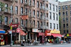 La cuisine de l'enfer, New York City Photo stock