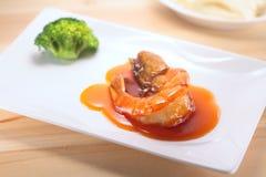 La cultura cinese dell'alimento Fotografie Stock