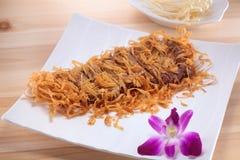 La cultura cinese dell'alimento Fotografie Stock Libere da Diritti