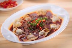 La cultura cinese dell'alimento Immagini Stock