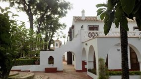 La culturale Torre-Malaga del de del centro-Alhurin fotografie stock libere da diritti