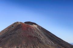 La cumbre de la condenación de la montaña fotos de archivo