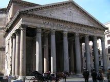 La cupola al panteon a Roma, Italia fotografia stock