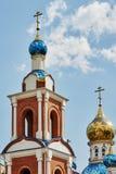 La cupola della chiesa immagini stock