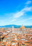 La cupola di Brunelleschi Immagine Stock Libera da Diritti