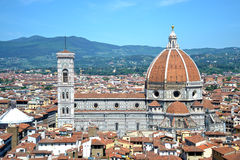 La cupola di Brunelleschi Fotografie Stock Libere da Diritti