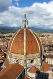 La cupola di Brunelleschi - Florence Dome Immagine Stock
