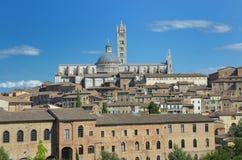 La cupola di Siena Fotografia Stock Libera da Diritti