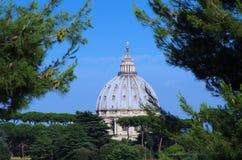 La cupola di St Peter Fotografia Stock Libera da Diritti