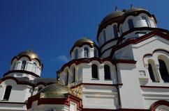 La cupola e la riflessione del tempio Immagine Stock Libera da Diritti