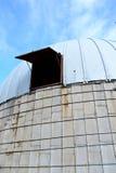 La cupola rotonda con una finestra fotografia stock
