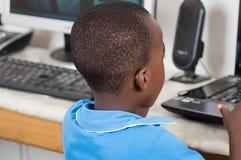 La curiosidad de niños Imagen de archivo