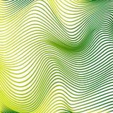 La curva abstracta alinea curvas modernas amarillas del fondo Imagen de archivo libre de regalías