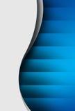 La curva bianca sorge con ombra Immagini Stock