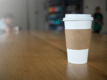 La cuvette de café emportent Photographie stock libre de droits