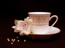 La cuvette de thé Images stock