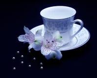 La cuvette de thé Image stock