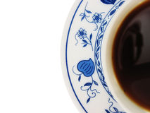 La cuvette de thé a isolé photo libre de droits