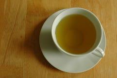 La cuvette de thé vert Photos libres de droits