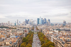 La Défense district Stock Image