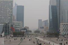 La Défense i Paris Arkivfoton