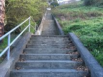la décimo quinta avenida camina, una del ` s de San Francisco más pequeño, los parques oficiosos, 2 fotografía de archivo