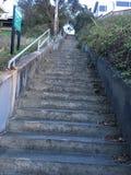 la décimo quinta avenida camina, una del ` s de San Francisco más pequeño, los parques oficiosos, 5 fotos de archivo