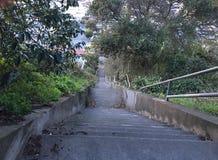 la décimo quinta avenida camina, una del ` s de San Francisco más pequeño, los parques oficiosos, 10 imagen de archivo