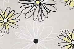 La décoration de cuisine fleurit la texture Image libre de droits