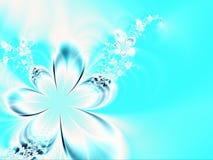 La décoration des fleurs Images libres de droits