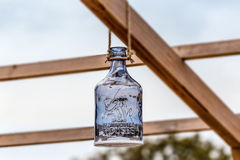 La décoration en verre fleurie est dans la nature Photographie stock libre de droits