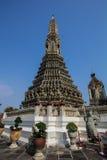 La décoration en Wat Arun Photographie stock