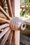 La décoration font par le bois dur Images stock