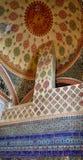 La décoration intérieure dans le palais de Topkapi, Istanbul, Turquie Photographie stock libre de droits