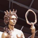 La déesse de l'Aphrodite d'amour (Vénus) Image libre de droits