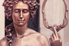La déesse de l'Aphrodite d'amour (Vénus, vintage dénommé) Images stock